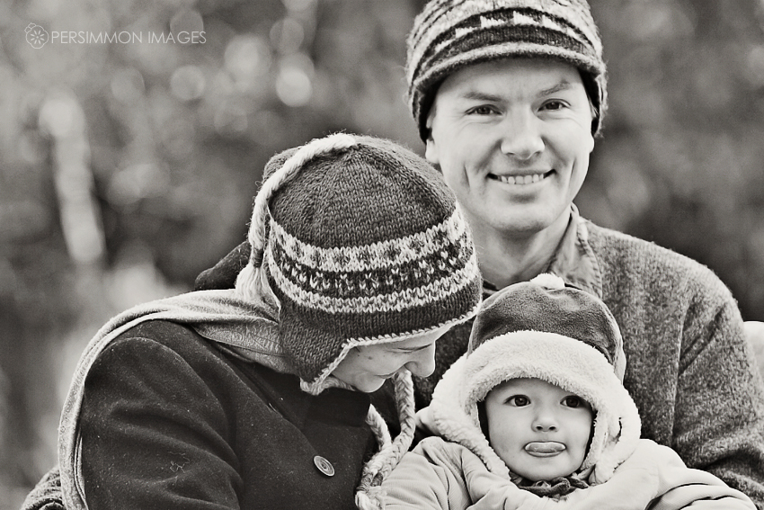 Photograph from family portrait session with Darcy, Lee, and Anton in Seattle