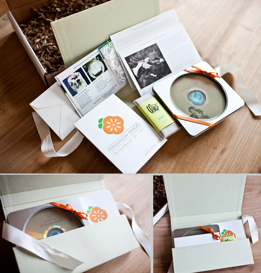 Whats in the box persimmon images client packages for Wedding photography packaging ideas