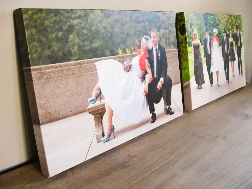 canvases from erica eric s rock n roll wedding persimmon images