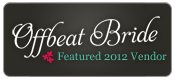2012 Offbeat Bride Featured Vendor