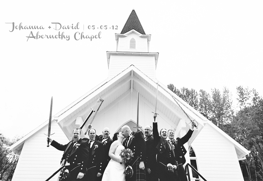 Abernethy Chapel Wedding photography in Oregon City, Oregon. David + Johanna