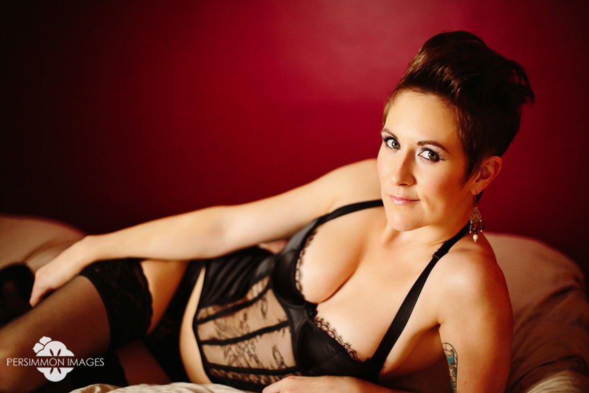 Seattle Boudoir Photography with Persimmon Images