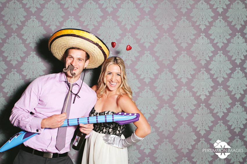 Salish Lodge Wedding Photobooth